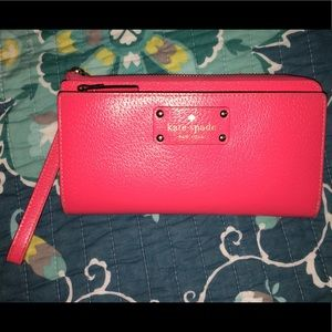 Beautiful Pink Kate Spade Wallet